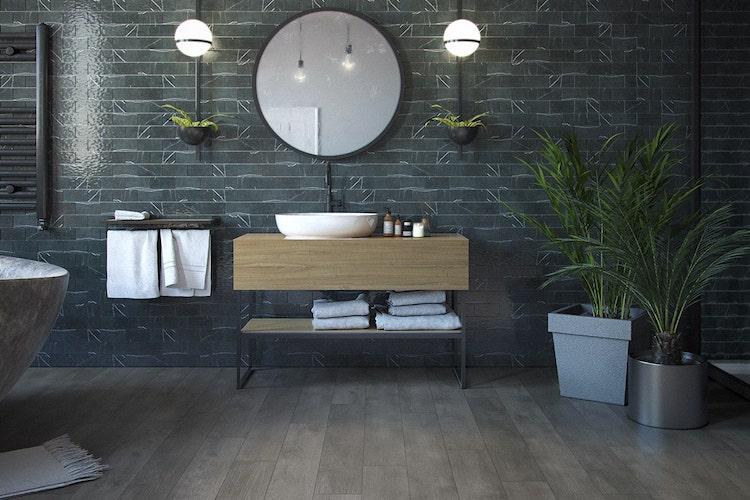 Vinyl bathroom roomset