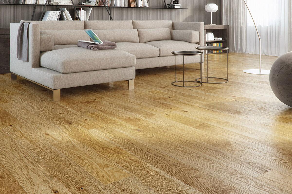 Barlinek Pure Engineered European Select Oak Flooring 130mm Coriander Oiled