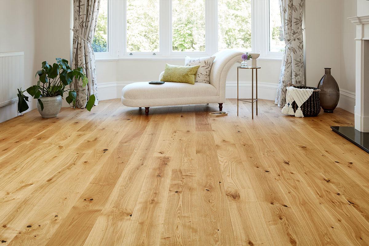 Barlinek Engineered European Nature Oak Flooring 180mm Cinnamon Grande Oiled