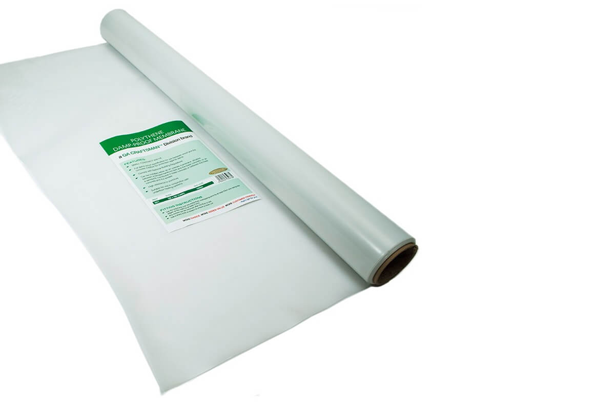 Fast Fit Polythene Damp Proof Membrane