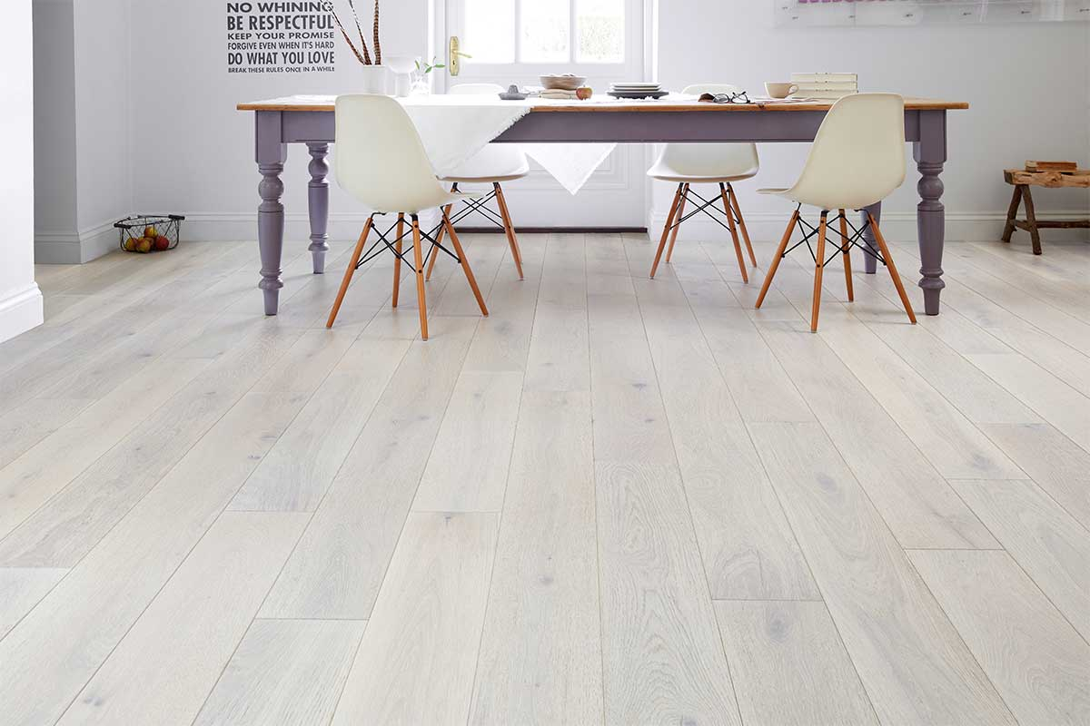 White Real Wood Flooring Uk Flooring Direct