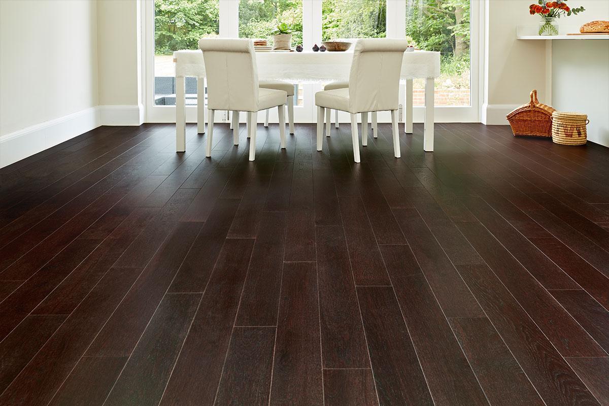 Home Choice Engineered European Oak Flooring Espresso Piccolo Lacquered