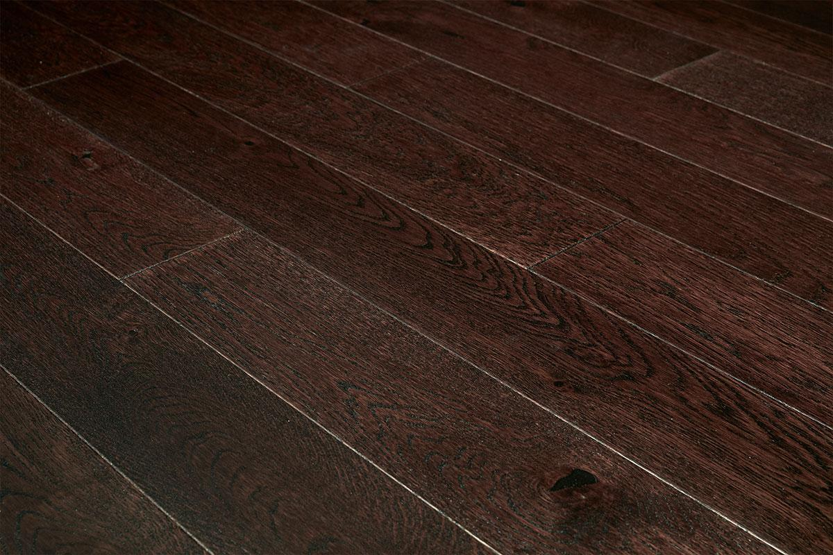 Home Choice Engineered European Rustic Oak Flooring 130mm Espresso Piccolo Lacquered