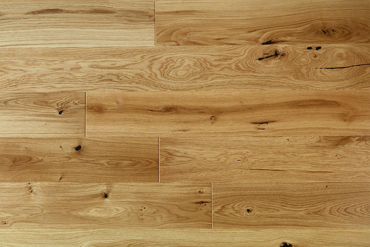 Mega Deal Engineered European Rustic Oak Flooring 14mm x 130mm Natural Lacquered