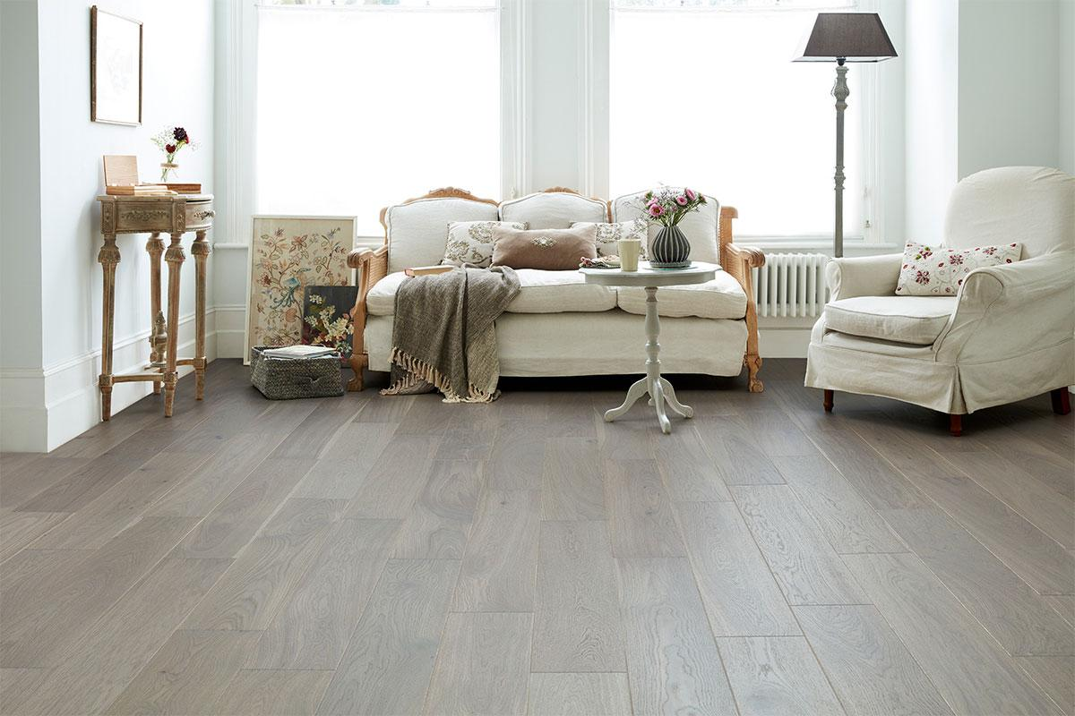 ... Home Choice Engineered European Rustic Oak Flooring 180mm Paloma Grey  Lacquered ...