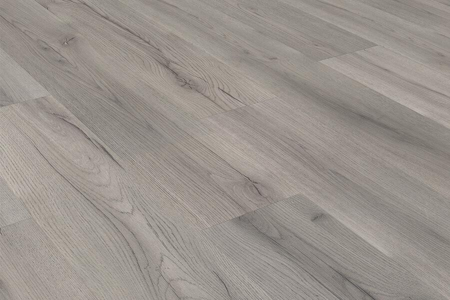 Series Woods 8mm Laminate Flooring Grey Oak