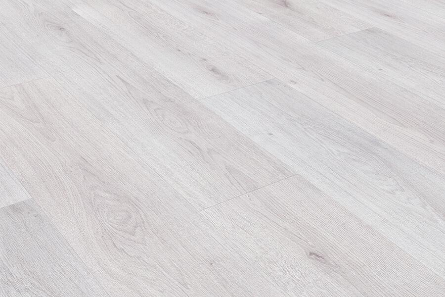 Series Woods 8mm Laminate Flooring Oak White