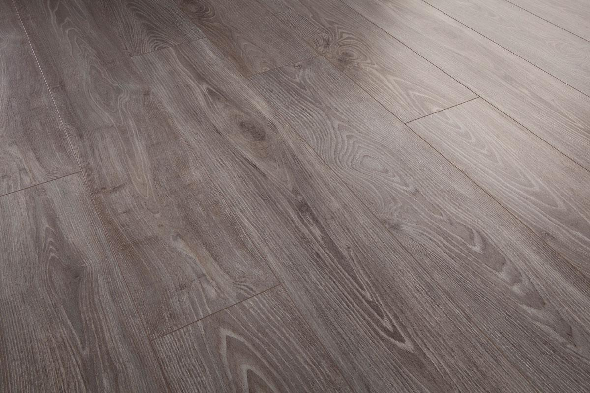 Series 7mm Laminate Flooring Vintage Acacia Grey