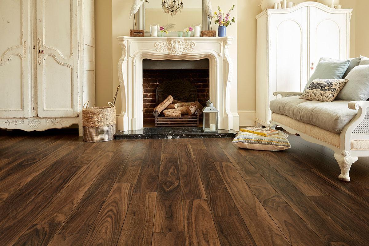 Mega Deal 10mm Laminate Flooring American Walnut
