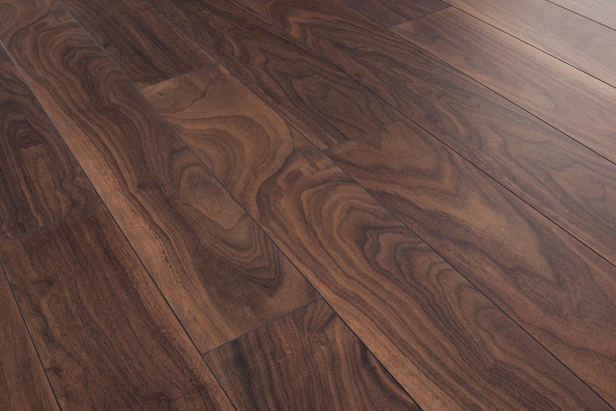 Series Woods 10mm Laminate Flooring American Walnut