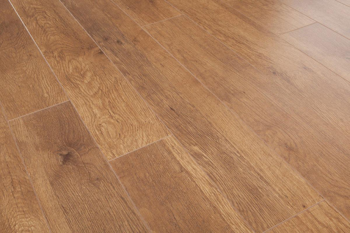 Mega Deal 10mm Laminate Flooring Harvest Oak