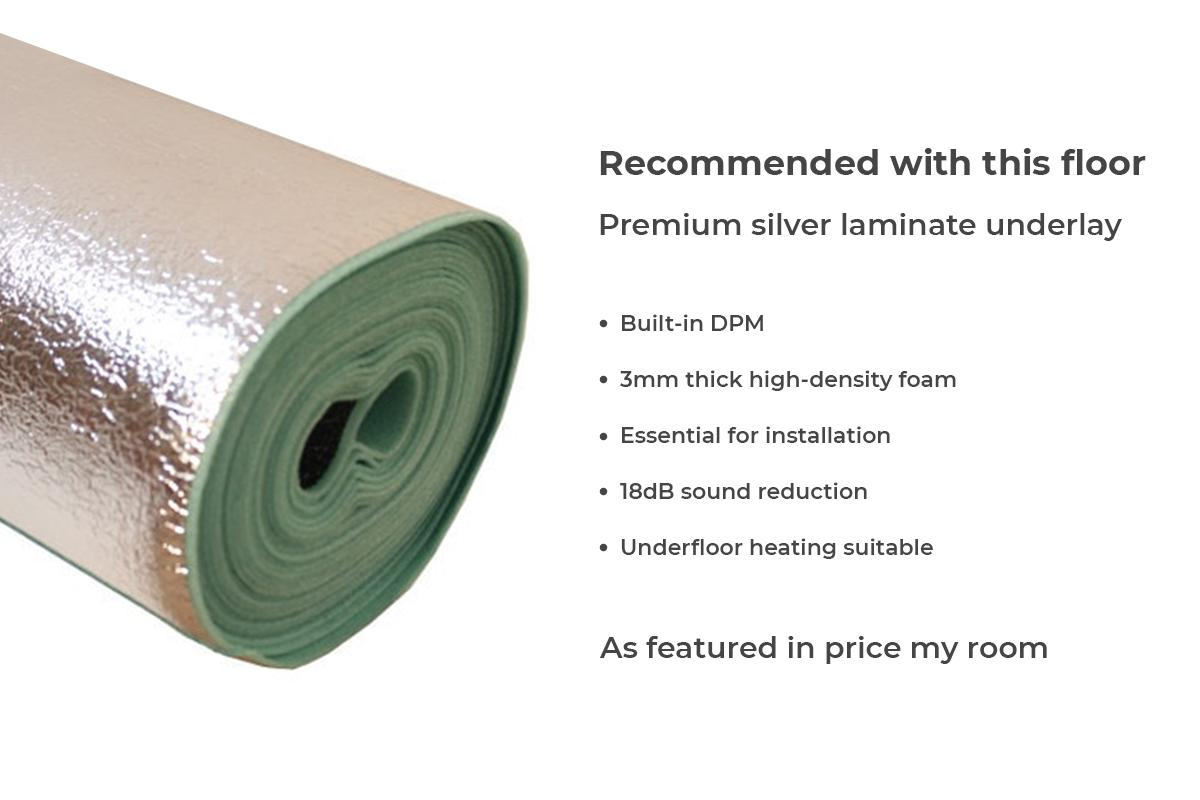 Series Woods Professional 12mm Laminate Flooring Harbour Oak