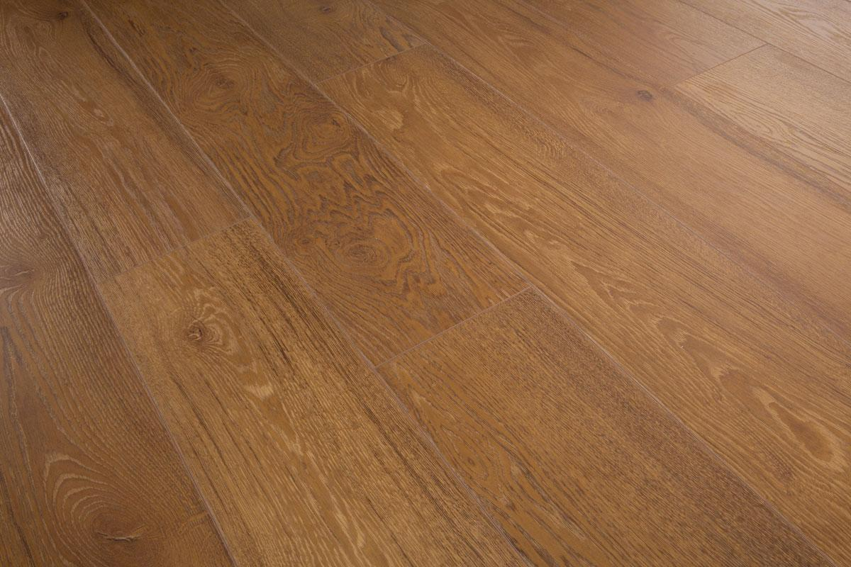 Series Woods Professional 12mm Laminate Flooring Honey Oak