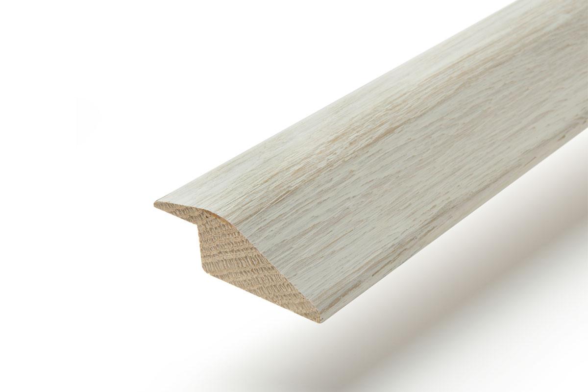 Solid Hardwood Ramp Profile 2m Pearl