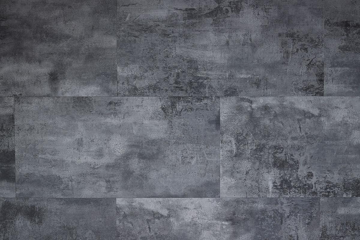 Spectra Dark Grey Stone Tile Luxury Click Vinyl Flooring