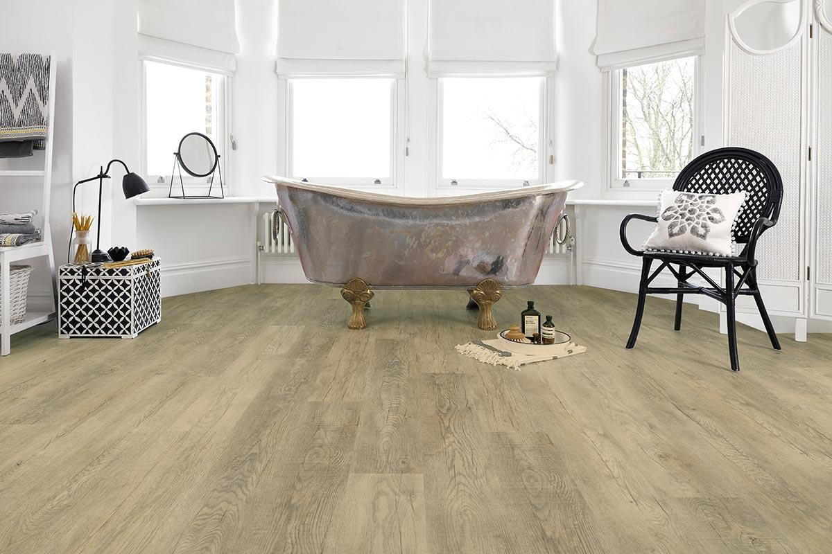 Spectra Fossil Oak Plank Luxury Click Vinyl Flooring