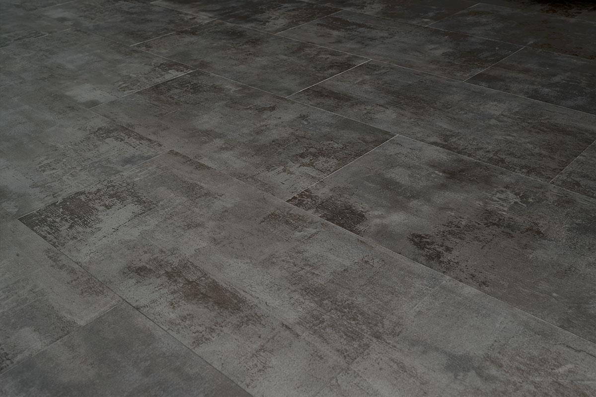 Spectra Light Grey Stone Tile Luxury Click Vinyl Flooring