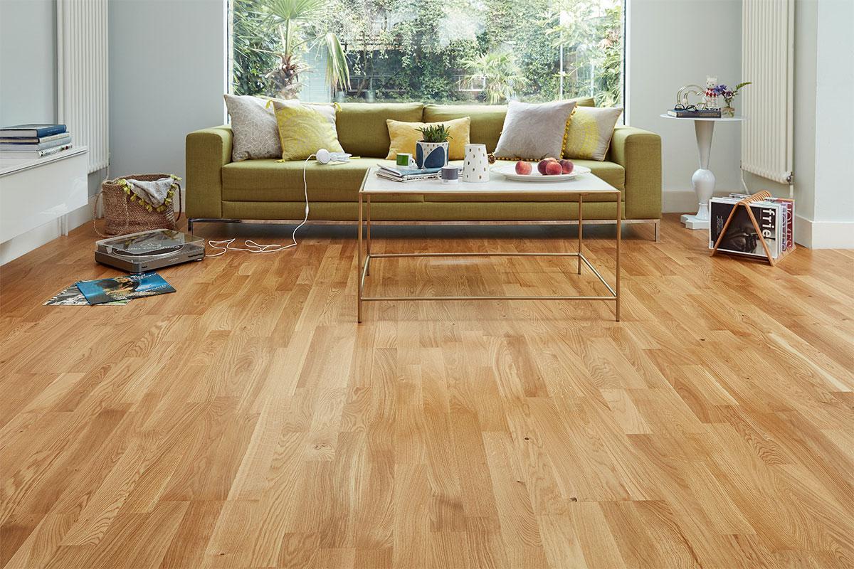 Home Choice Engineered European Oak Flooring 14mm 3 Strip