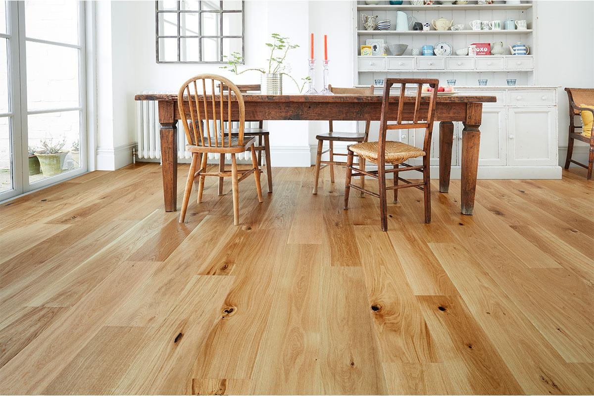 Mega Deal Engineered European Oak Flooring Brushed Oiled