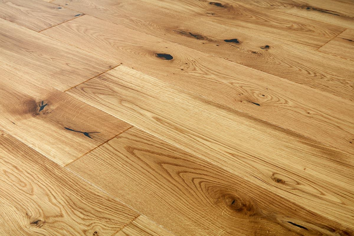 Mega Deal Engineered European Rustic Oak Flooring 14mm x 180mm Natural Lacquered