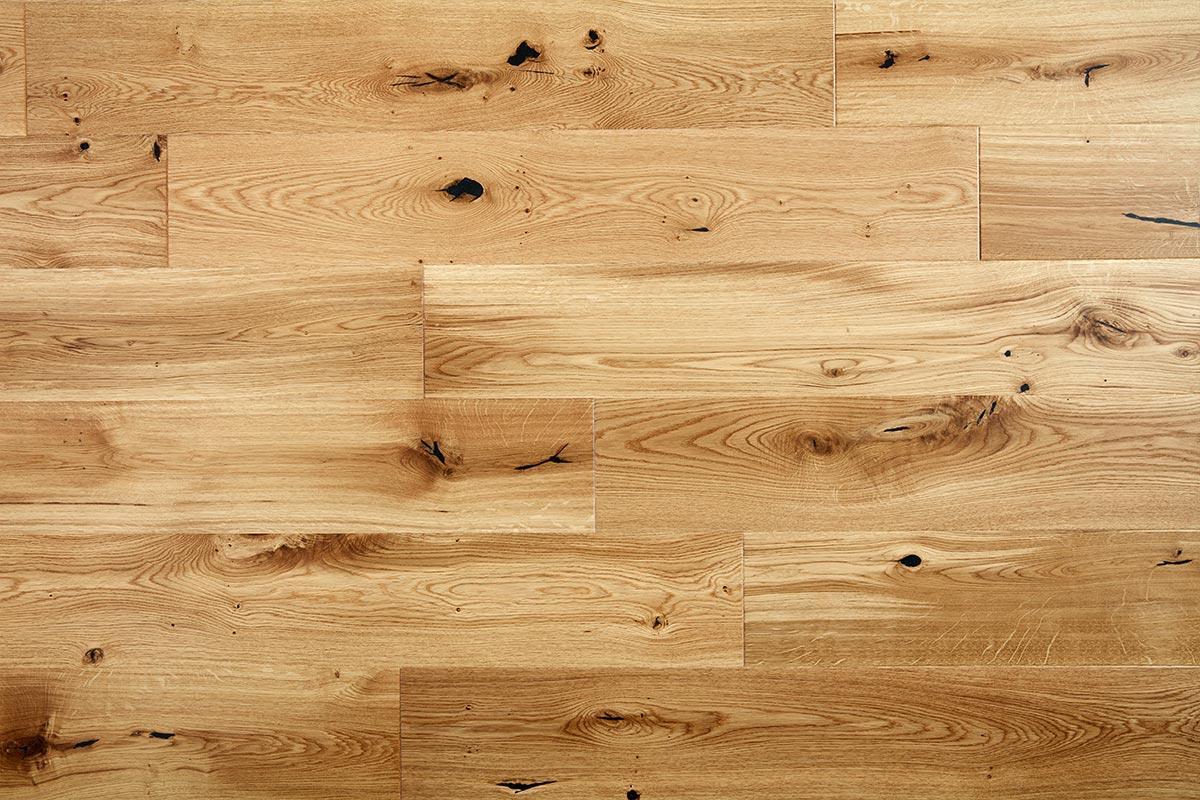 Home Choice Engineered European Rustic Oak Flooring 180mm Natural Lacquered