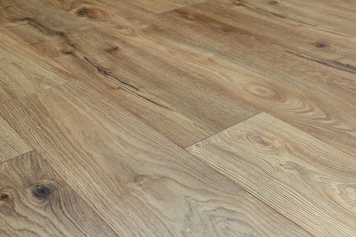 Vantage 14mm Laminate Flooring Beach Oak