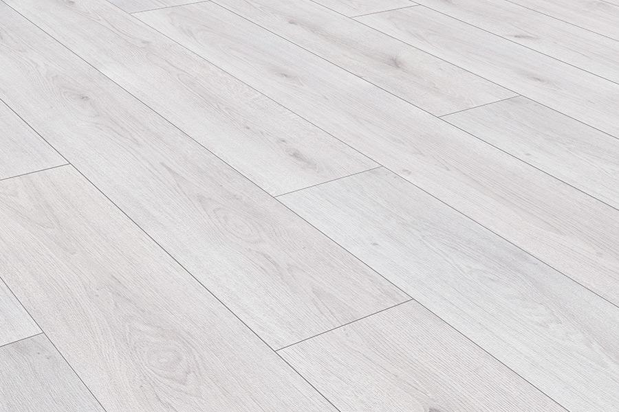 Series Woods 8mm Laminate Flooring White Oak