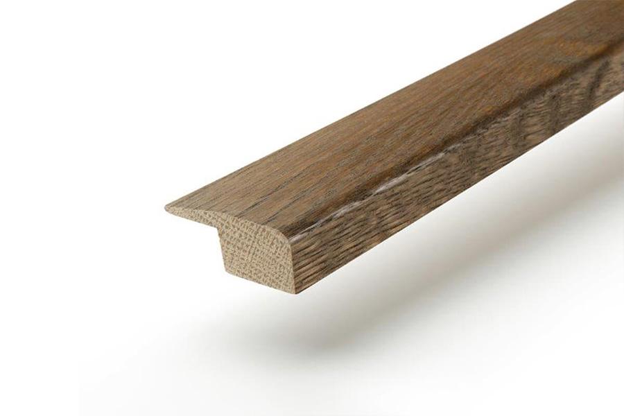 Solid Hardwood End Profile 2m Fumed