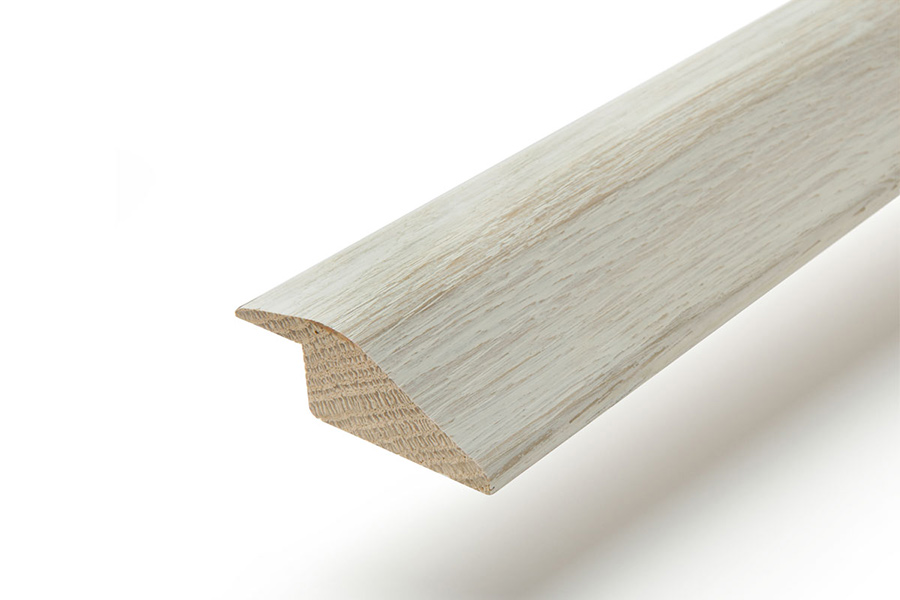 Solid Hardwood Ramp Profile 2m Pearl