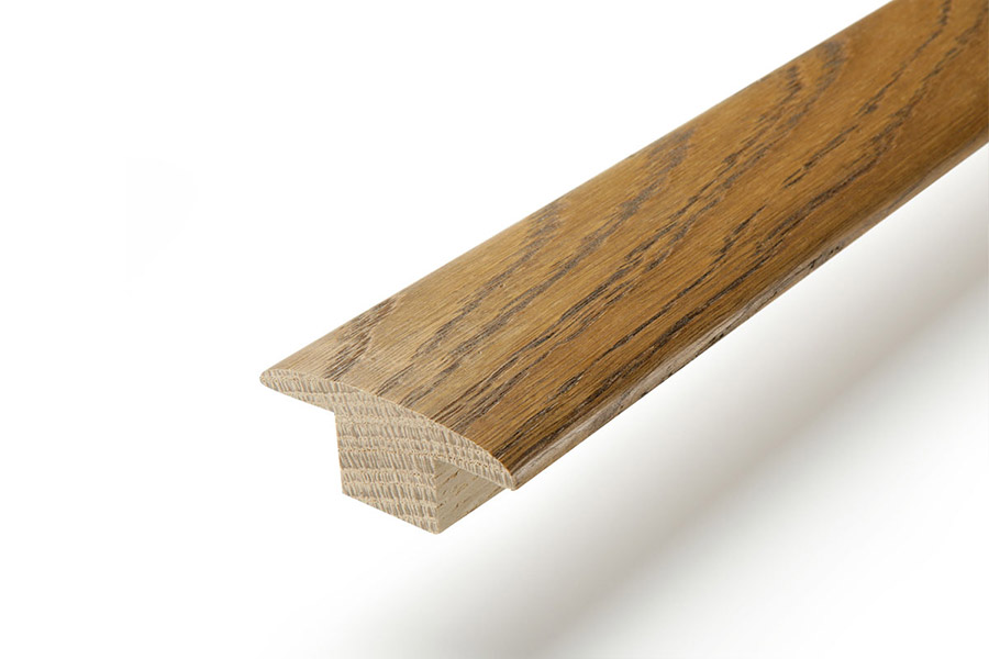 Solid Hardwood T Profile 2m Fumed