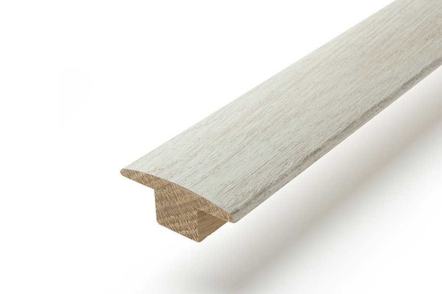 Solid Hardwood T Profile 2m Pearl