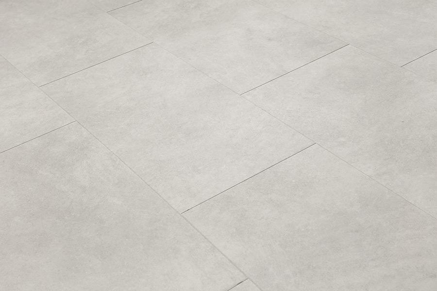 Spectra Light Grey Cement Tile Luxury Click Vinyl Flooring