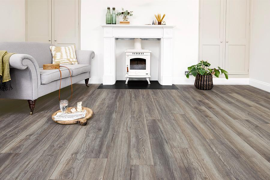 Series Woods Professional 10mm Laminate Flooring Harbour Grey Oak