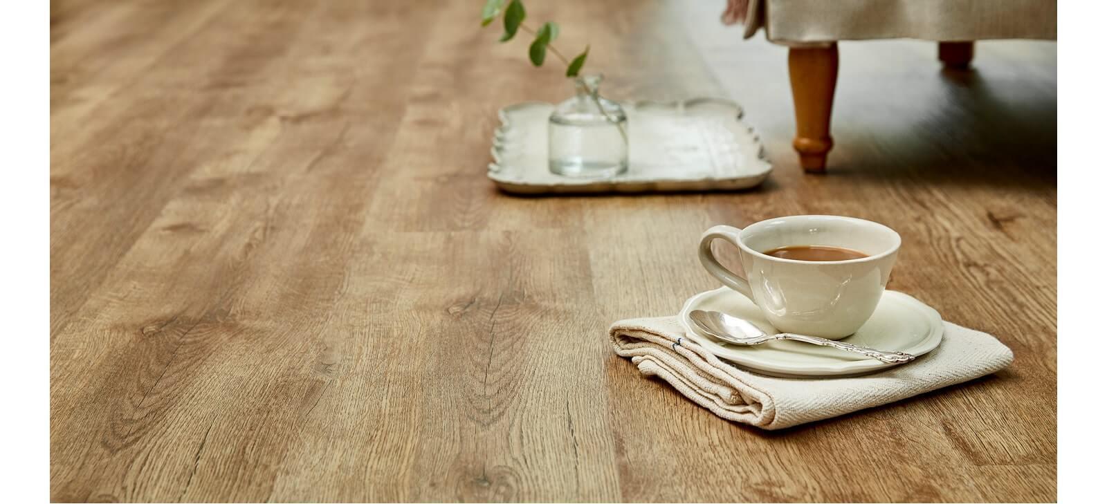 teacup on floor