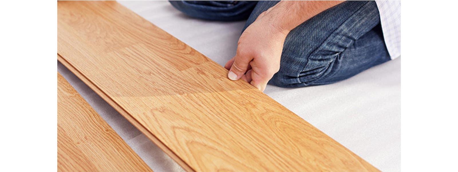 wood boards installing