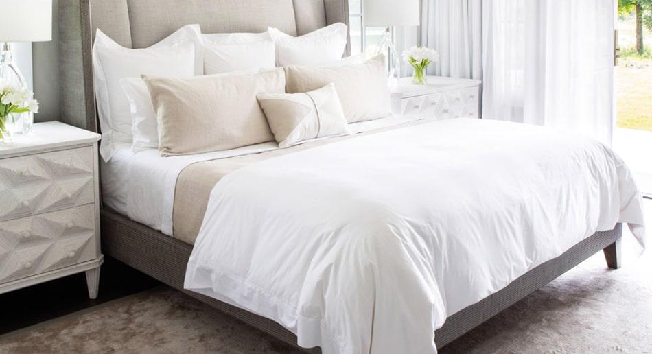 beige bedroom roomset