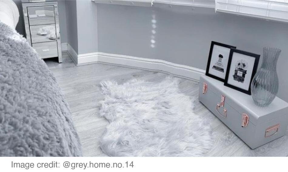 grey bedroom roomset