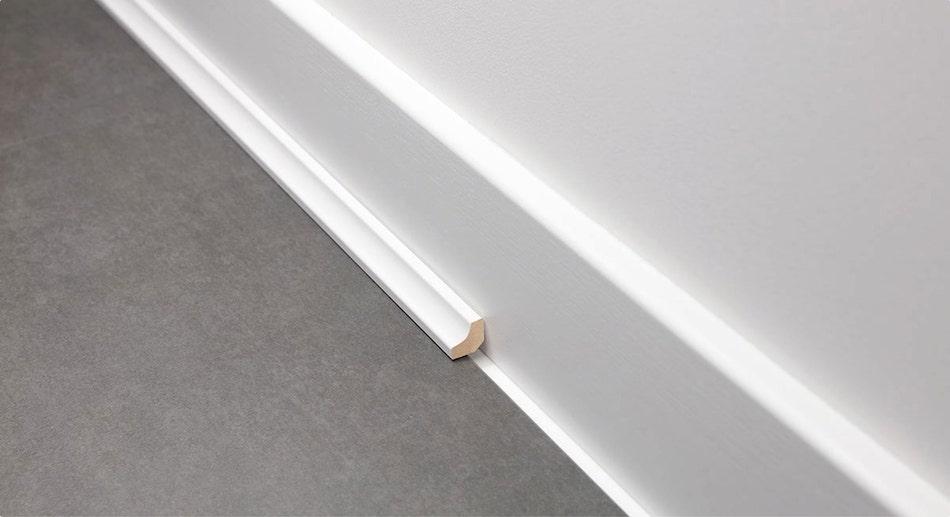 Vinyl floor beading