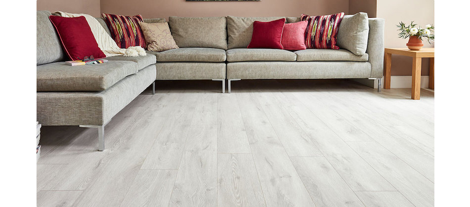 Grey Lounge with Grey Series Woods Laminate