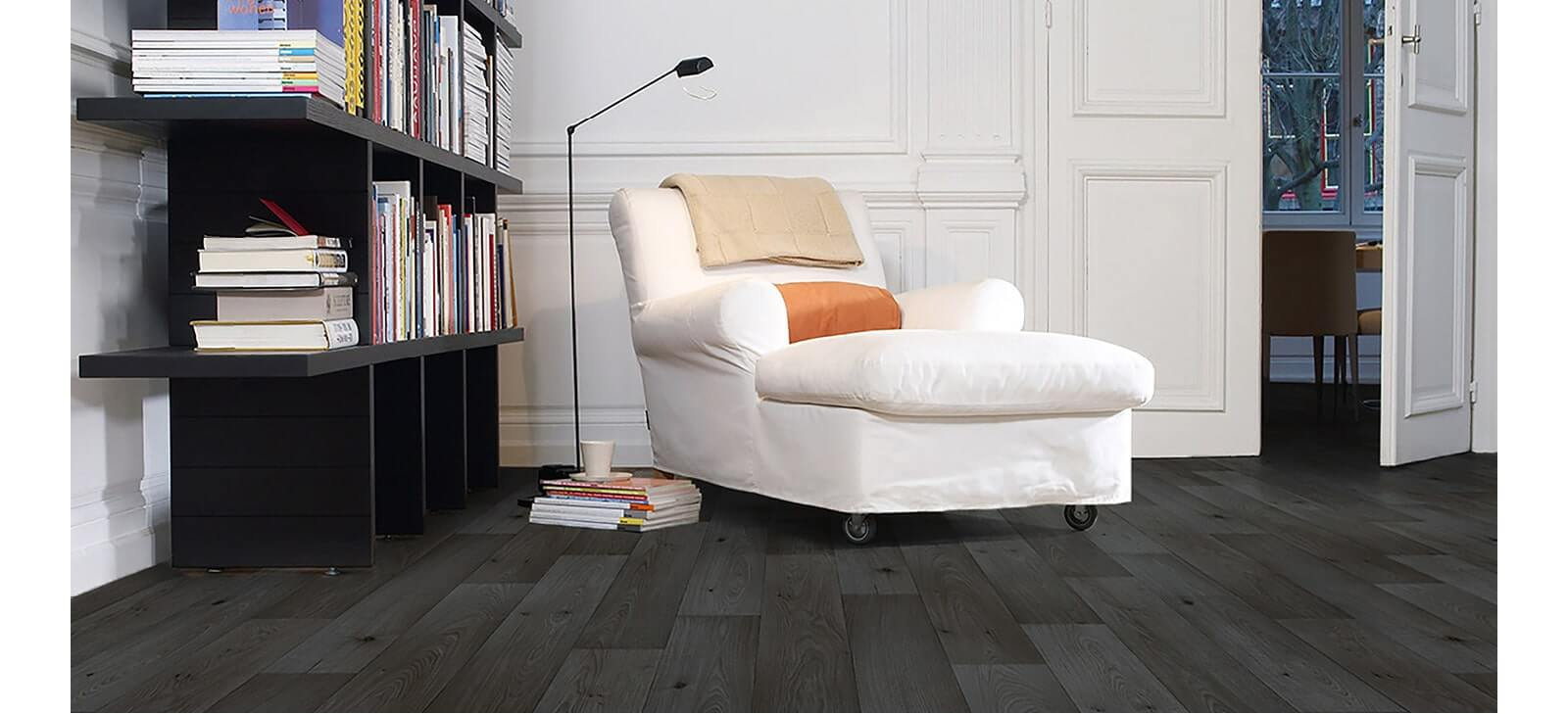 sheet vinyl living room armchair