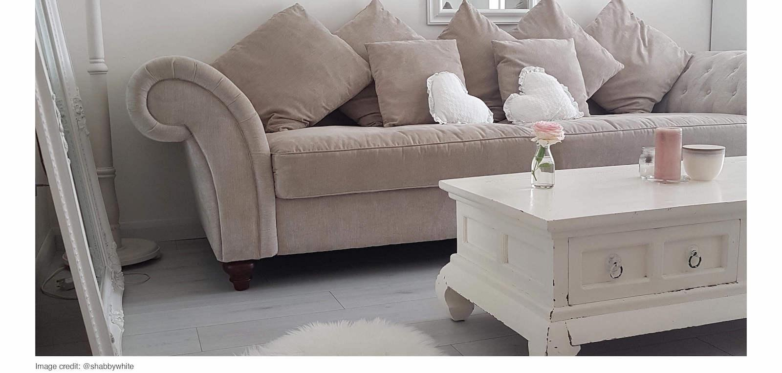 Neutral Lounge Roomset with Grey Laminate