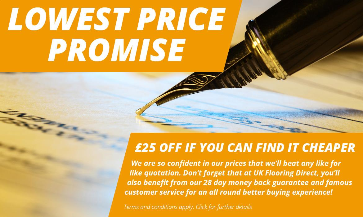 UK's Lowest flooring prices guaranteed